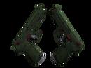 Dual Berettas | Терн (Немного поношенное)