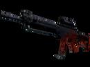 StatTrak™ SG 553 | Темнокрыл (Закалённое в боях)