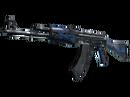 AK-47 | Синий глянец (Прямо с завода)