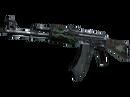 AK-47 | Изумрудные завитки (Поношенное)