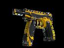 CZ75-Auto | Желтый жакет (Закаленное в боях)
