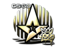 Наклейка | Astralis (золотая) | РМР 2020