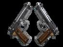 Dual Berettas | Черная лимба (После полевых испытаний)