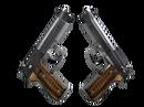 Dual Berettas | Черная лимба (Прямо с завода)