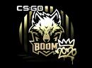 Наклейка | Boom (золотая) | РМР 2020