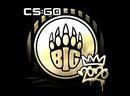 Наклейка | BIG (золотая) | РМР 2020