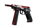 CZ75-Auto | Красный ястреб (Поношенное)