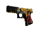 Glock-18 | Королева пуль (Закалённое в боях)