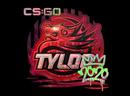 Наклейка | TYLOO (голографическая) | РМР 2020