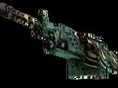 M249 | Emerald Poison Dart (Немного поношенное)