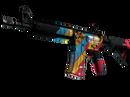 M4A4 | Кибербезопасность (Поношенное)