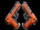 Dual Berettas | Подрыв (Поношенное)