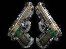 Dual Berettas | Royal Consorts (Закаленное в боях)