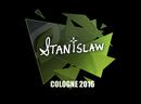 Наклейка   stanislaw   Cologne 2016